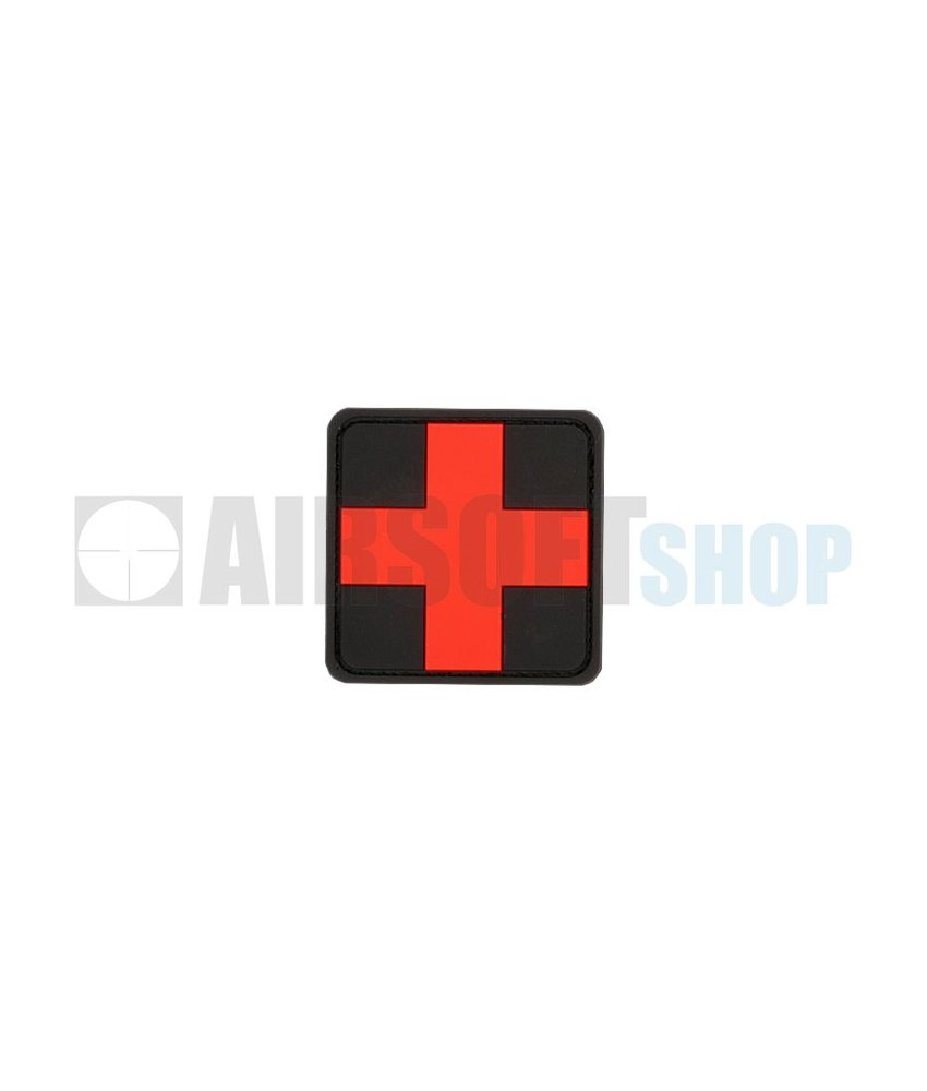 JTG Red Cross PVC Patch (Blackmedic)