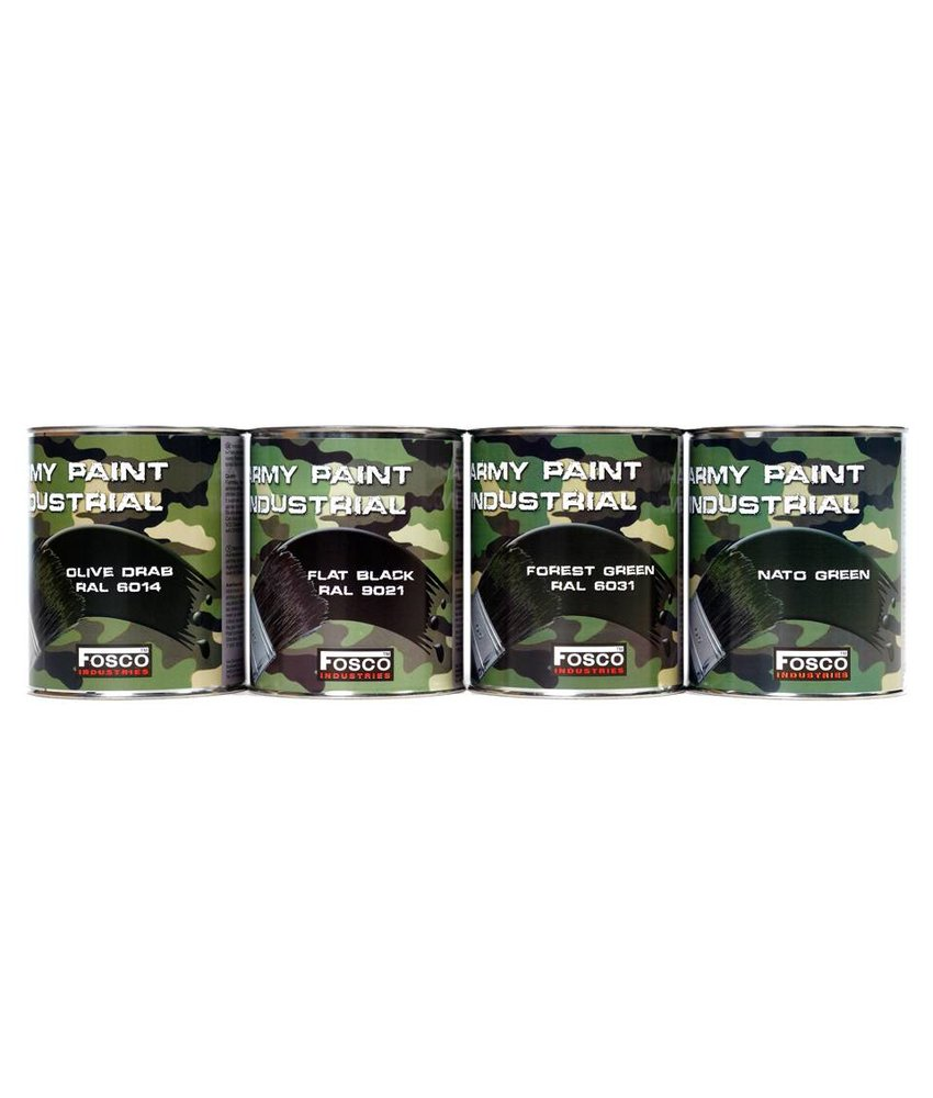 Fosco Verf Blik Forest Green 1liter