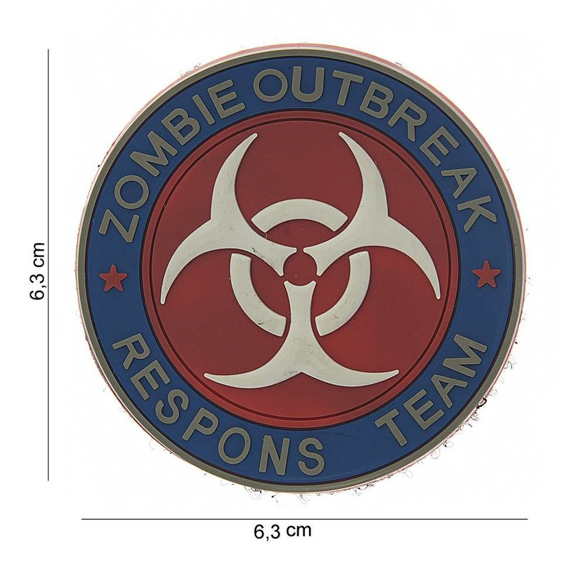 Zombie Outbreak Respons Team PVC Patch (Color)