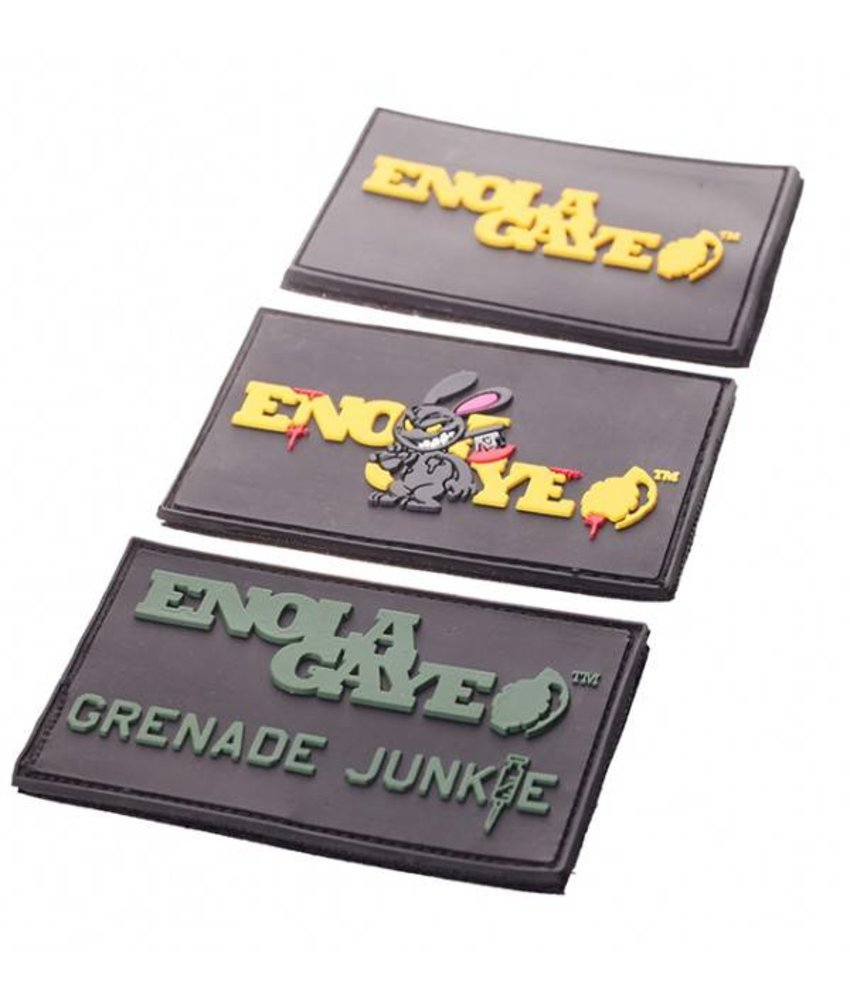 Enola Gaye PVC Patches