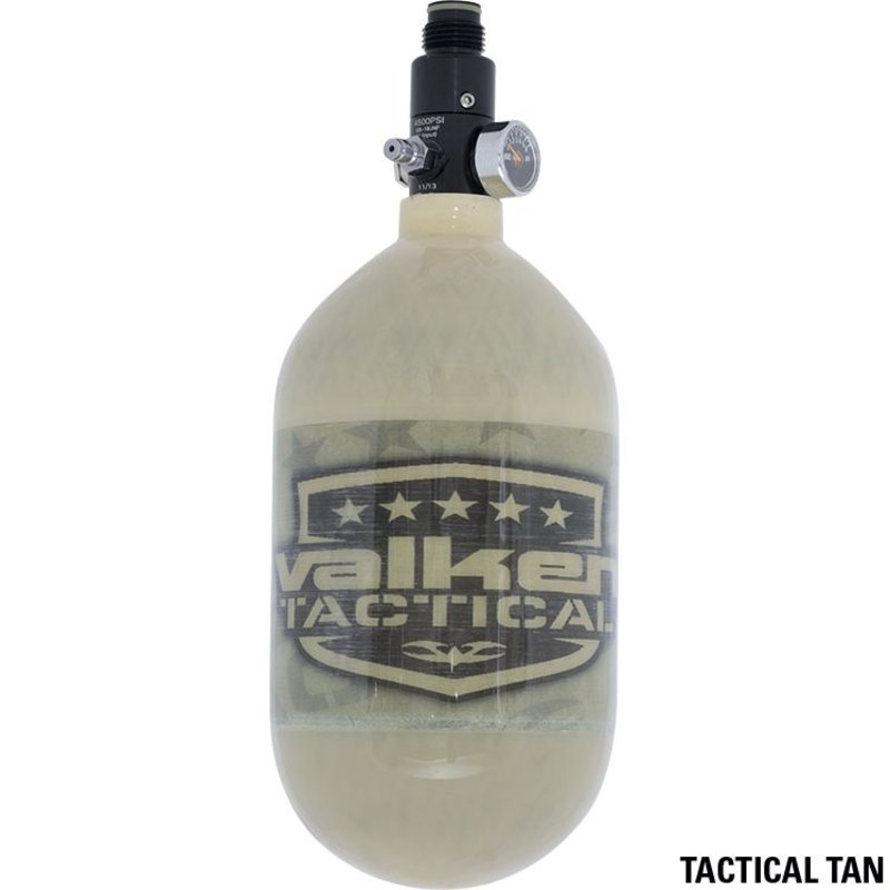 Valken Air Tank (68/4500) + Regulator (Tan)