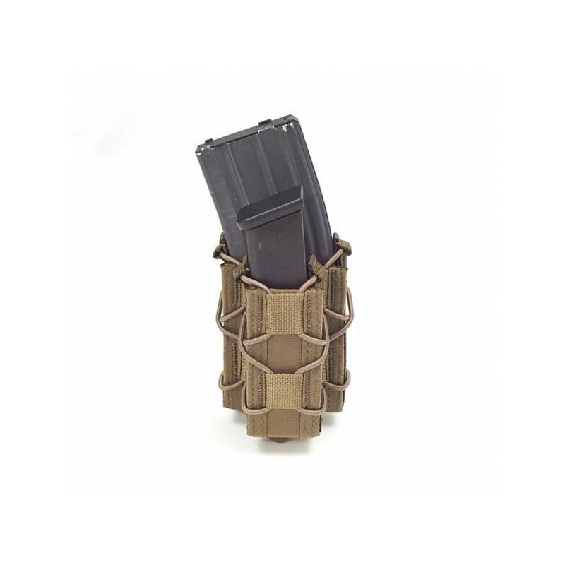 Warrior Single Quick Mag + Single Pistol Pouch (Coyote Tan)