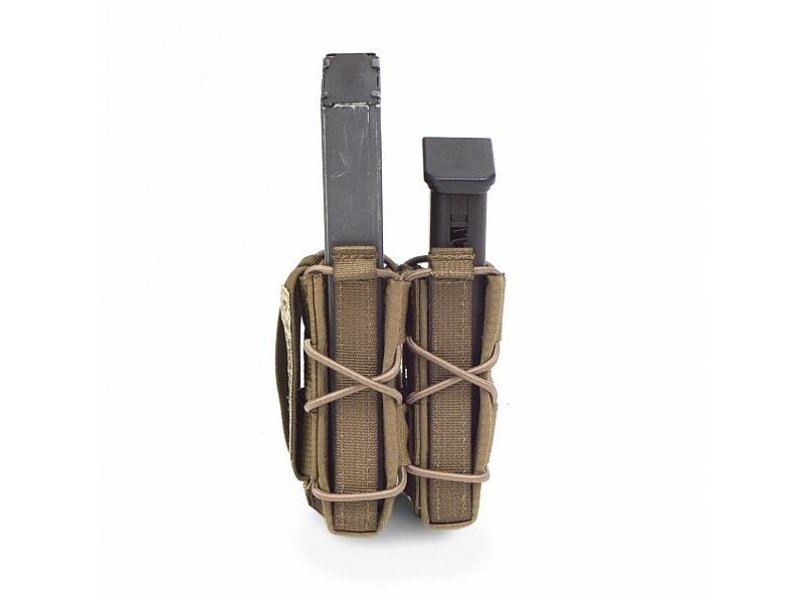 Warrior Single Quick Mag + Single Pistol Pouch (Coyote Tan)