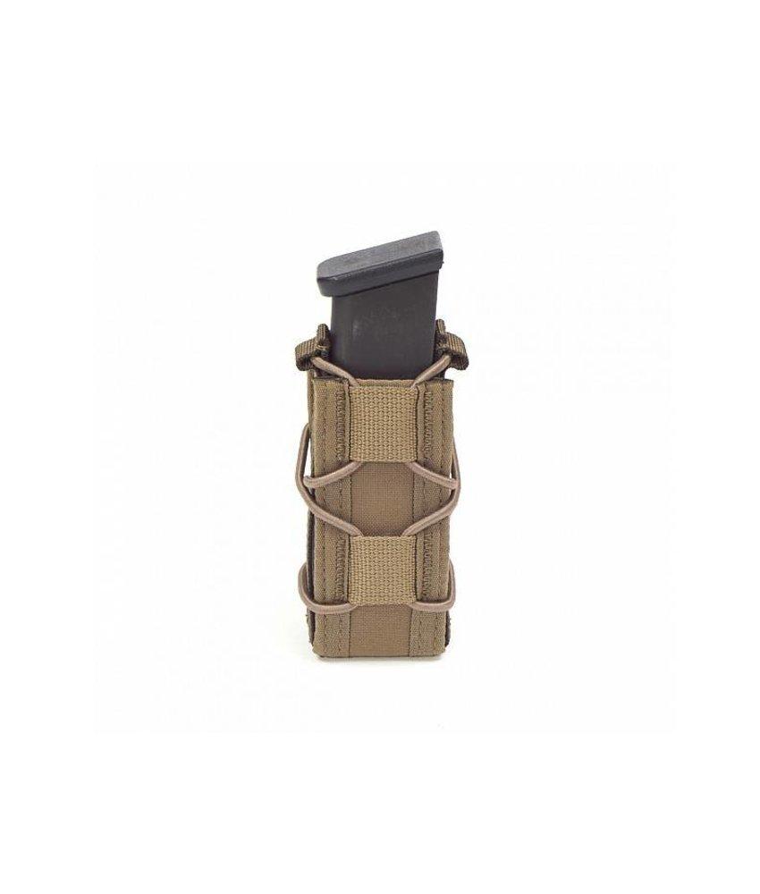 Warrior Single Quick Pistol Mag Pouch (Coyote Tan)