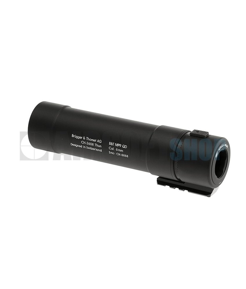 KWA B&T MP9 QD Silencer (Black)