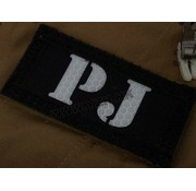 Emerson PJ IR Callsign Patches (Black/Tan)