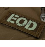 Emerson EOD IR Callsign Patches (Black/Tan)