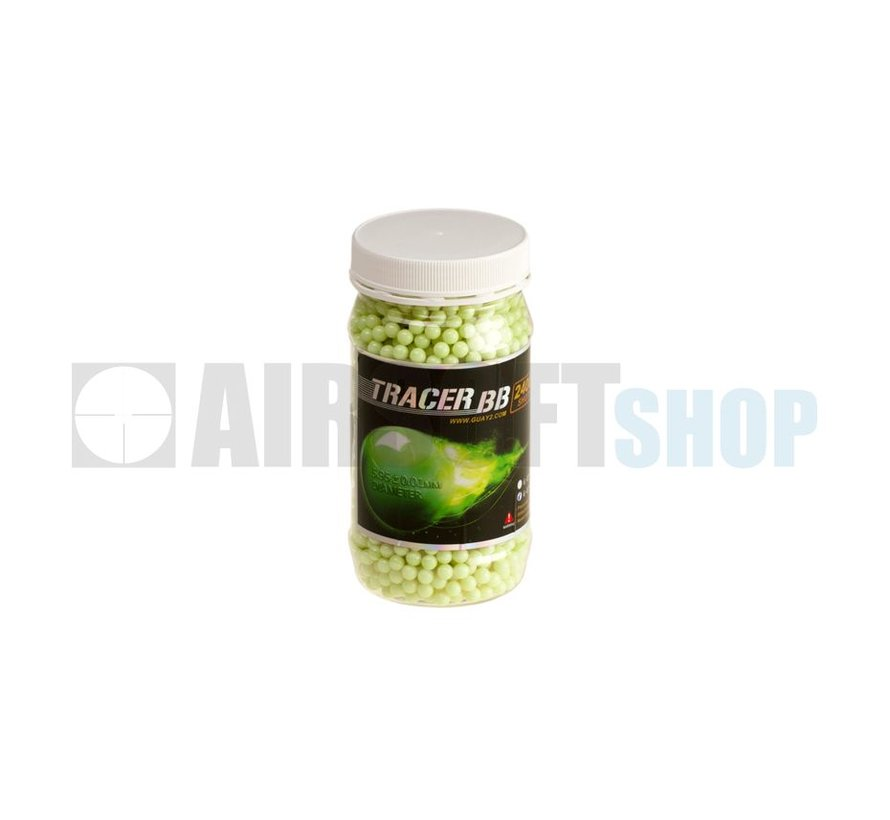 GREEN Tracer BB 0,25g (2400rds)