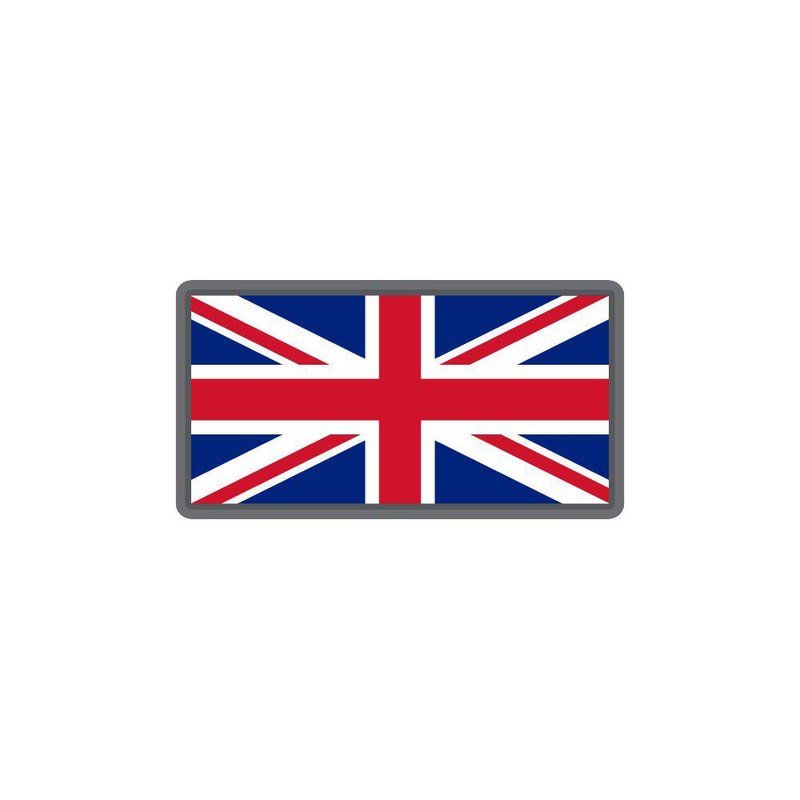 MIL-SPEC MONKEY British Flag PVC Patch
