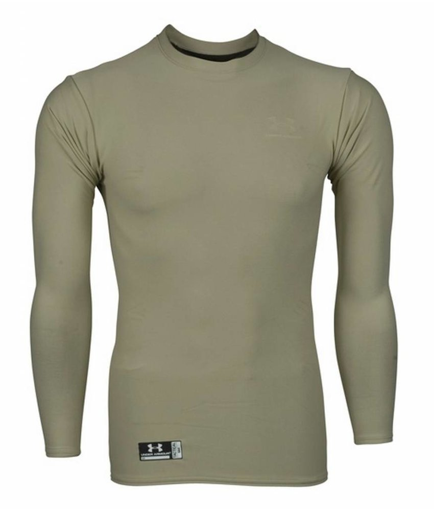 Under Armour ColdGear Tactical Crew Shirt (Tan)