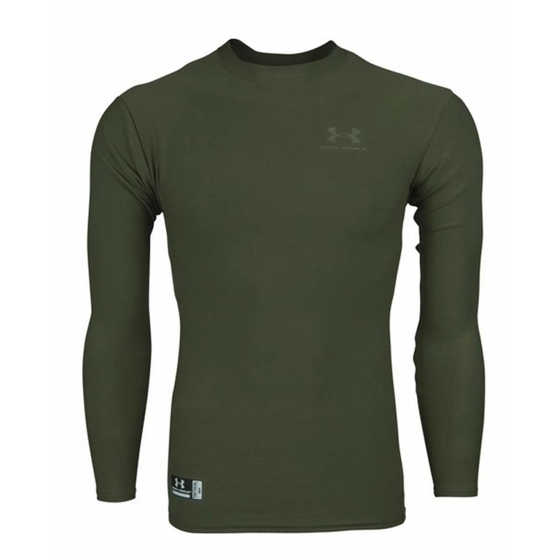 Under Armour ColdGear Tactical Crew Shirt (Olive Drab)