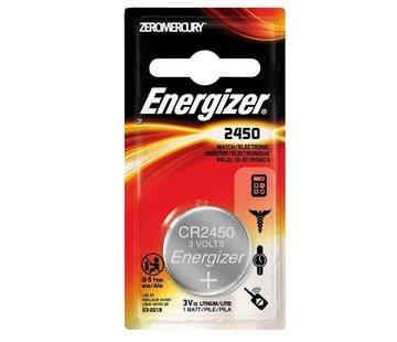 Energizer CR2450 Lithium 3V Batterij