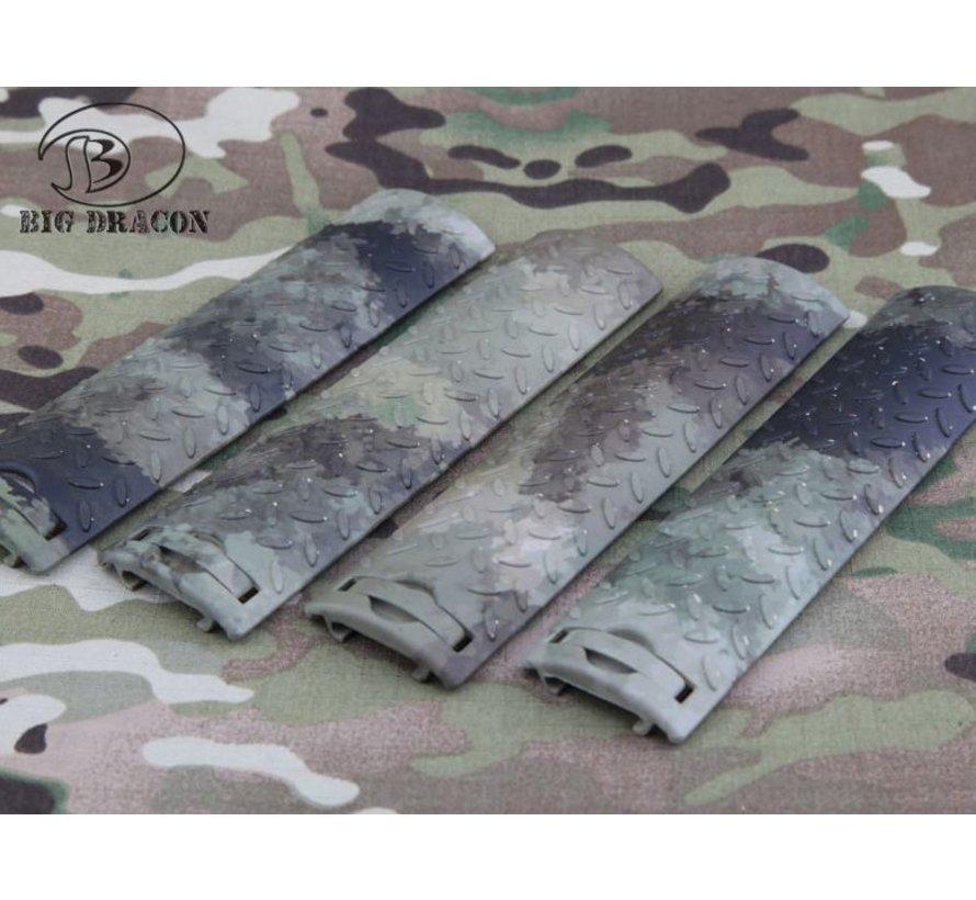 EGO Diamond Plate Rail Covers (A-TACS AU)