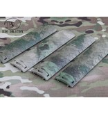 Big Dragon EGO Diamond Plate Rail Covers (A-TACS FG)