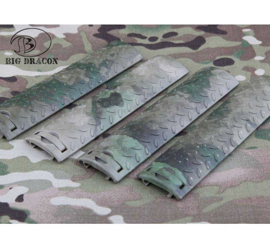 EGO Diamond Plate Rail Covers (A-TACS FG)