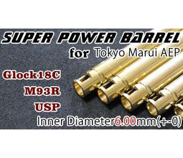 Orga TM18C AEP Super Power 6.00mm Barrel