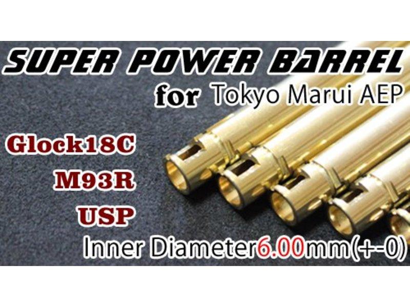 Orga Super Power Barrel 6.00mm Inner Barrel TM18C AEP