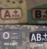 MIL-SPEC MONKEY Bloodtype Patch