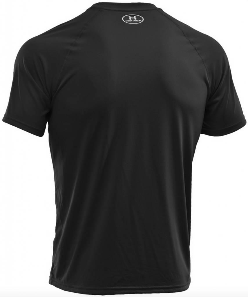 Under Armour Heatgear Tech T Shirt Black Airsoftshop