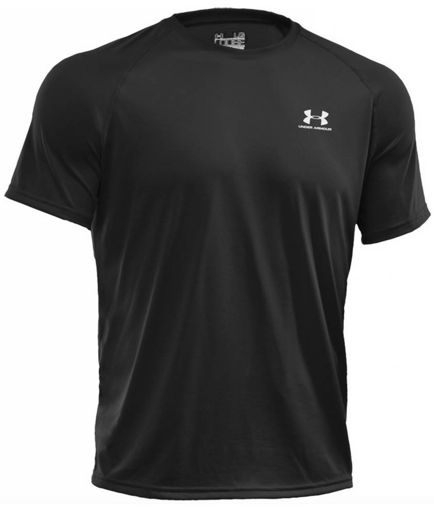 Under Armour HeatGear Tech T-Shirt (Black)