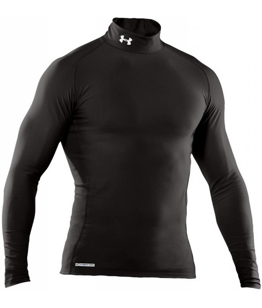 Under Armour ColdGear Compression EVO Mock (Black)