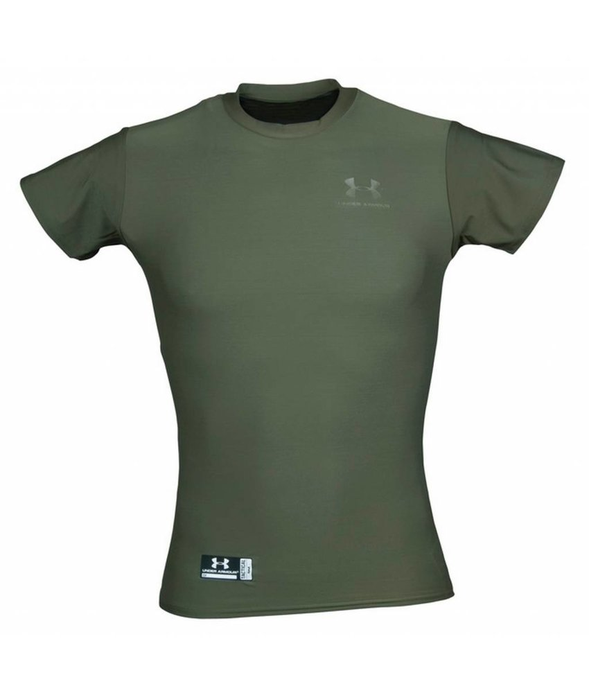 Under Armour HeatGear Tactical T-Shirt (Olive)