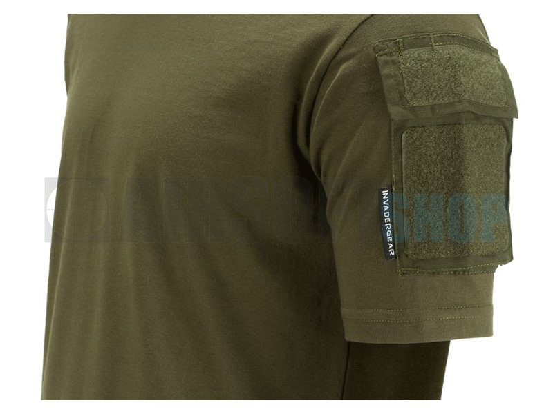Invader Gear Tactical Tee T-Shirt (Olive Drab)