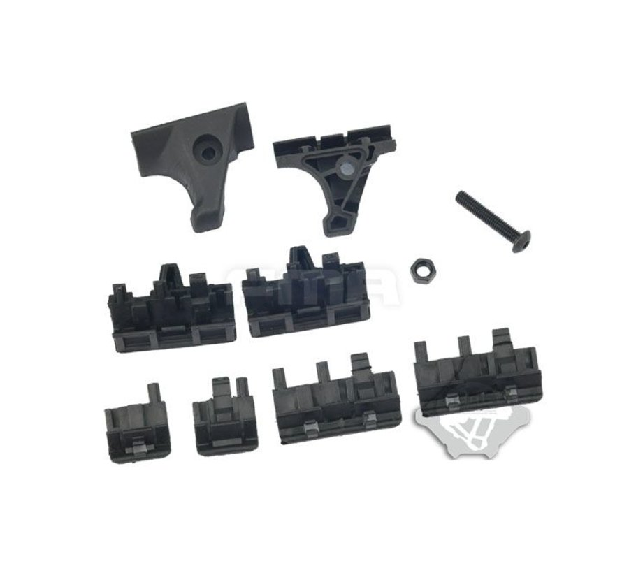 FTM Hand Stop Kit (Black)