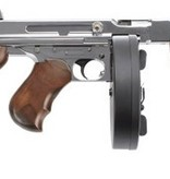 King Arms Thompson 1928 REAL WOOD - SILVER