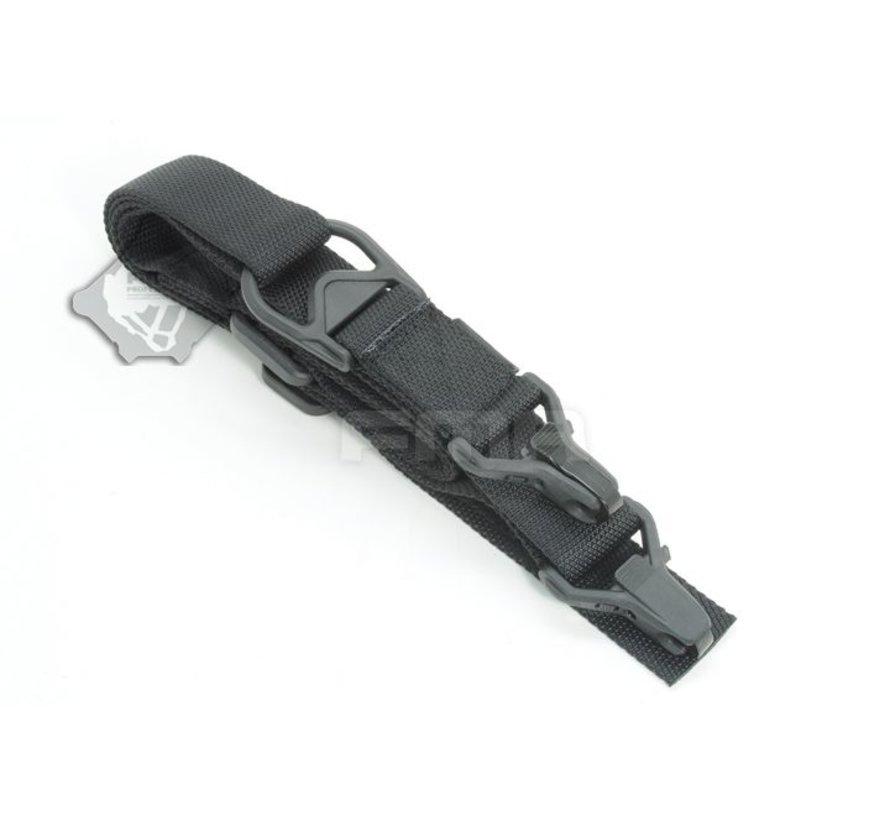 FS3 Multi-Mission Single Point / 2Point Sling (Black)