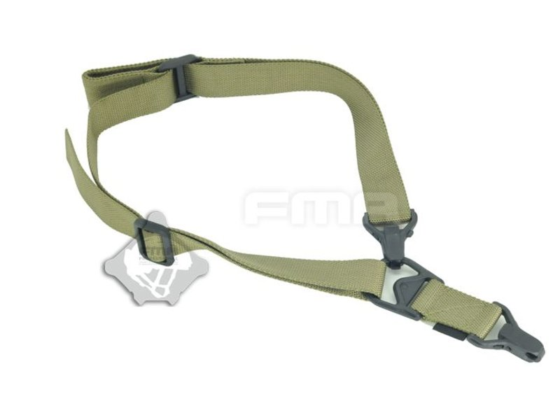 FMA FS3 Multi-Mission Single Point / 2Point Sling (Olive Drab)