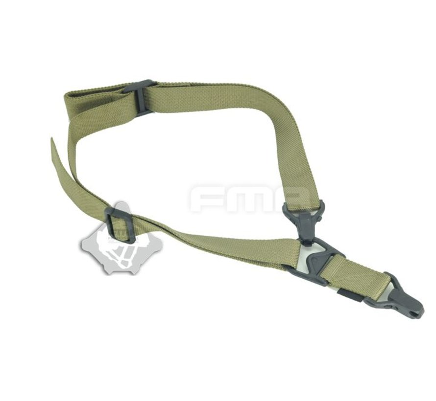 FS3 Multi-Mission Single Point / 2Point Sling (Olive Drab)
