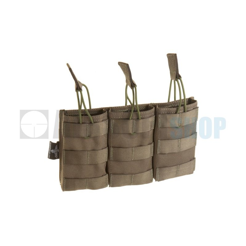 Invader Gear 5.56 Triple Direct Action Mag Pouch (Ranger Green)