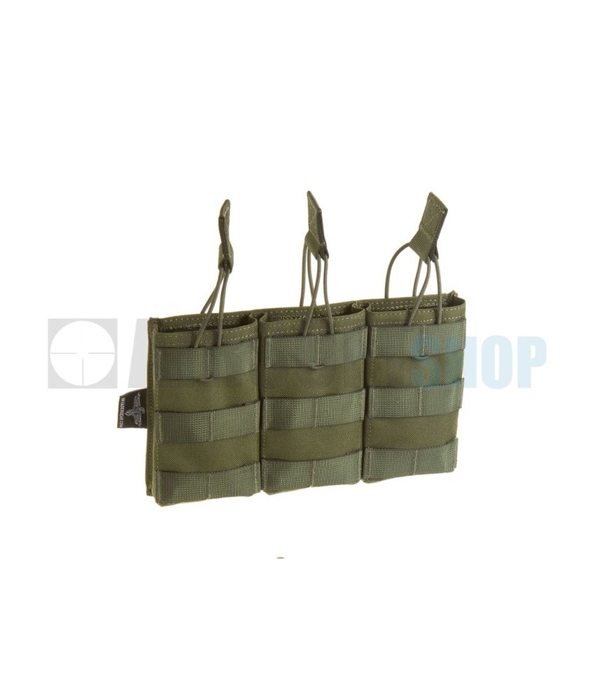 Invader Gear 5.56 Triple Direct Action Mag Pouch (Olive Drab)
