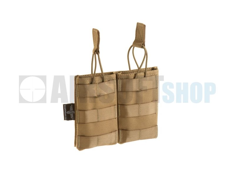 Invader Gear 5.56 Double Direct Action Mag Pouch (Coyote)