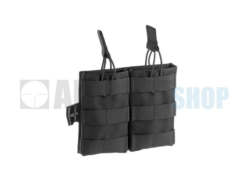 Invader Gear 5.56 Double Direct Action Mag Pouch (Black)