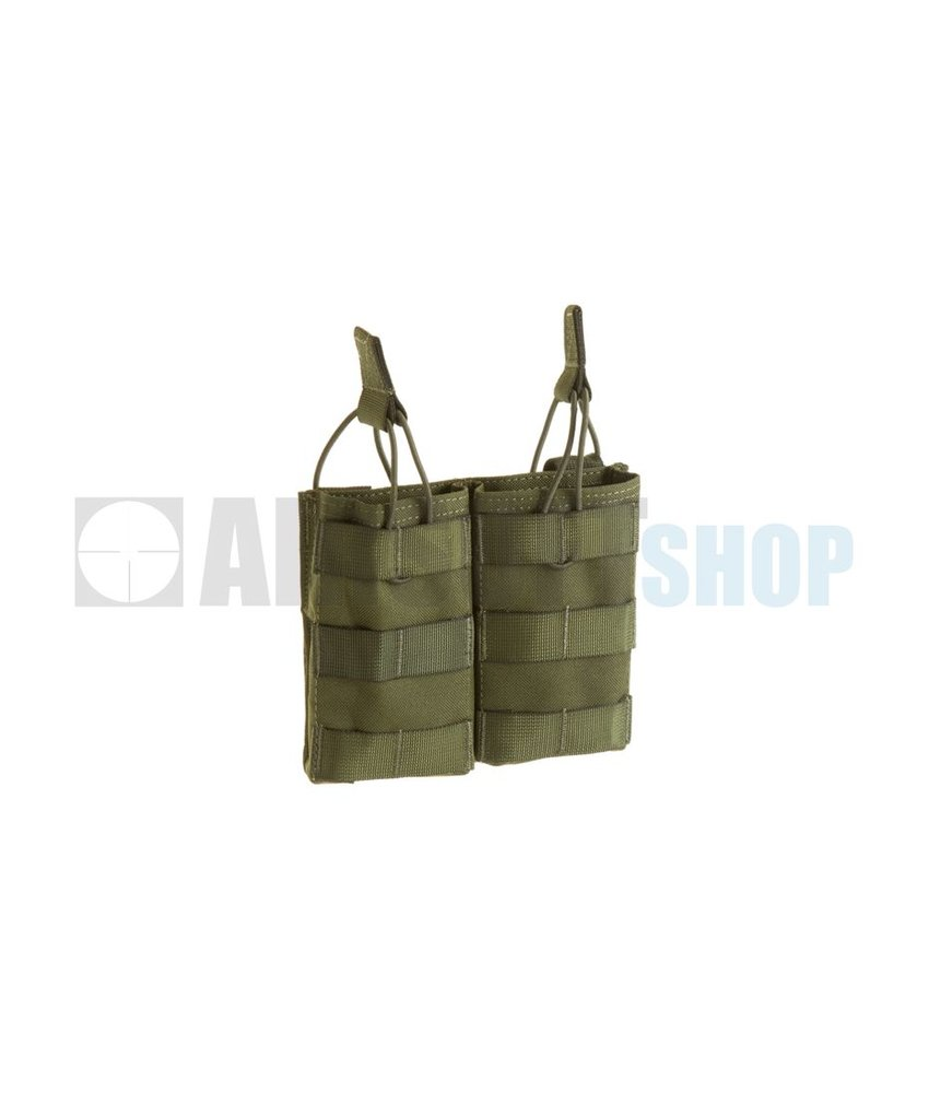 Invader Gear 5.56 Double Direct Action Mag Pouch (Olive Drab)