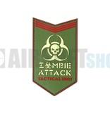 JTG Zombie Attack PVC Patch (Multicam)