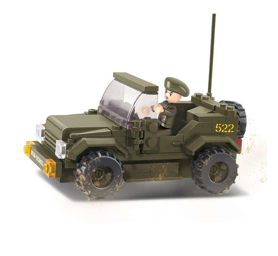Jeep M38-B0296 Style 2