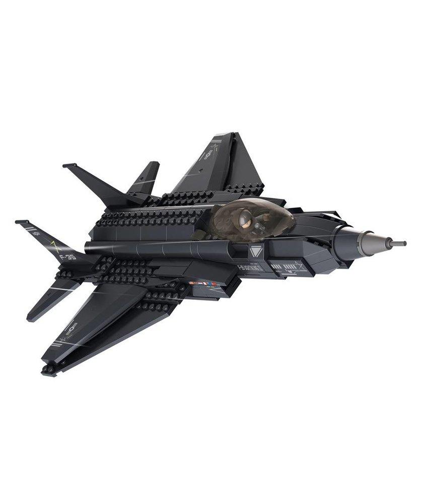 Sluban Lightning II Fighter Aircraft M38-B0510