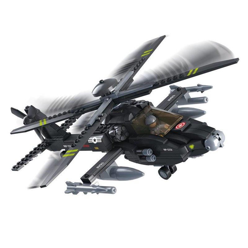 Sluban Apache Helicopter M38-B0511