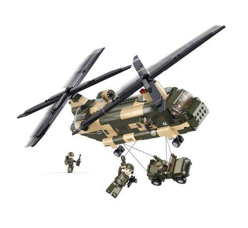 Sluban Chinook Helicopter M38-B0508
