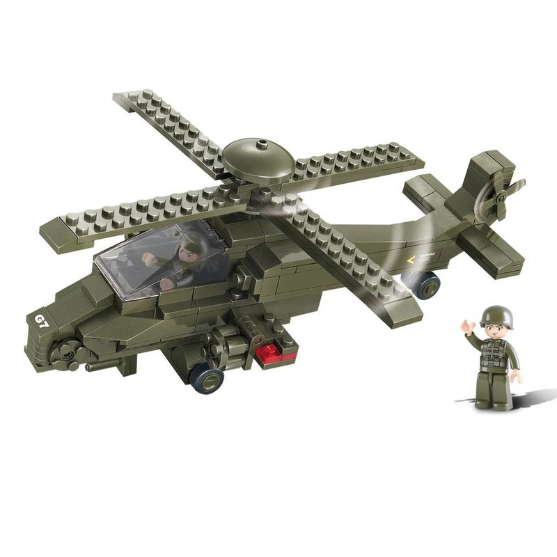 Sluban Attack Helicopter M38-B0298
