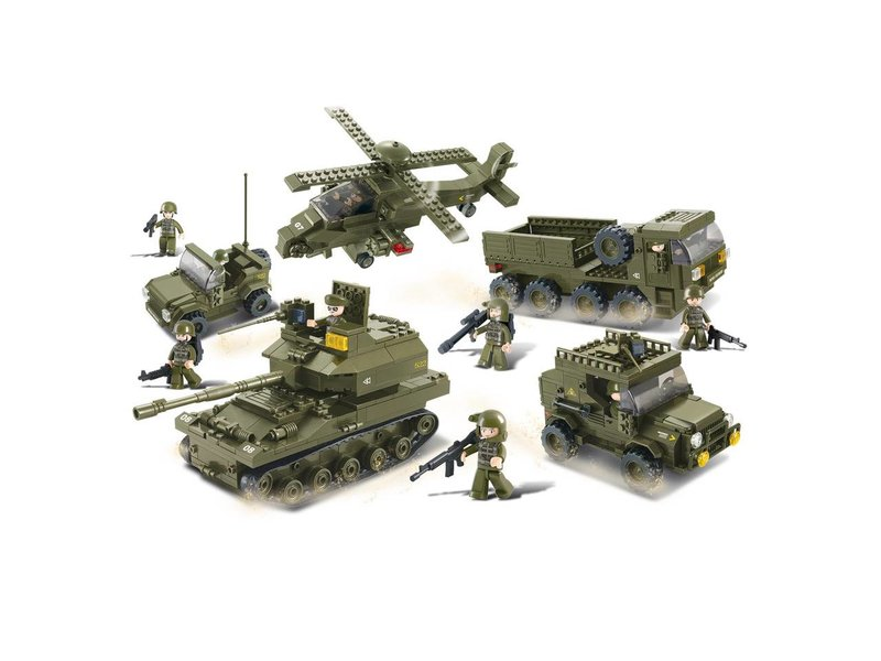 Sluban Army Set M38-B0311