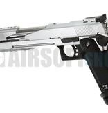 WE Hi-Capa 7 Silver GBB