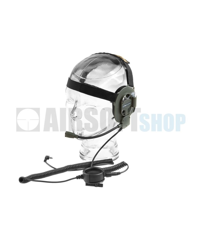 Midland Bow M Military Headset (Kenwood Plug)