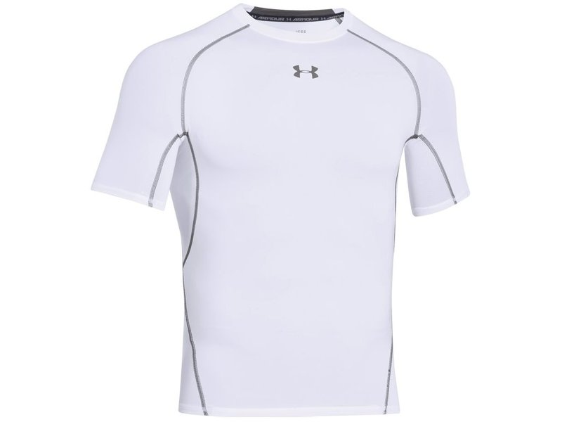 Under Armour HeatGear SS T-Shirt (White)