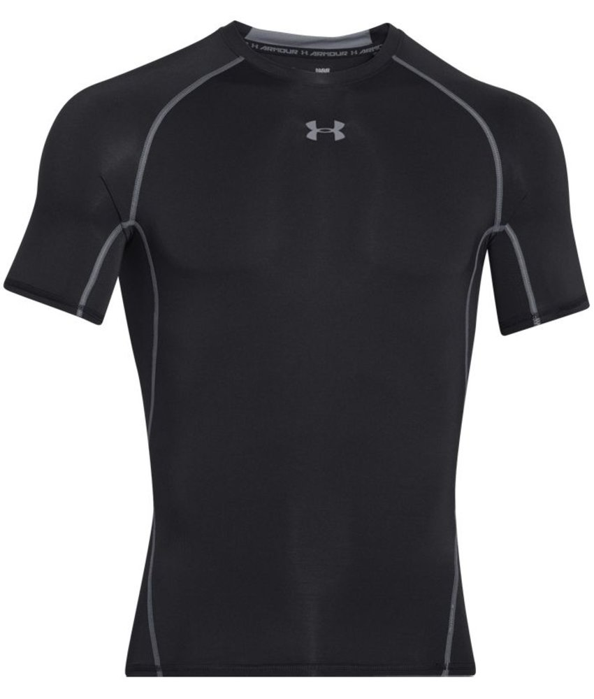 Under Armour HeatGear SS T-Shirt (Black)
