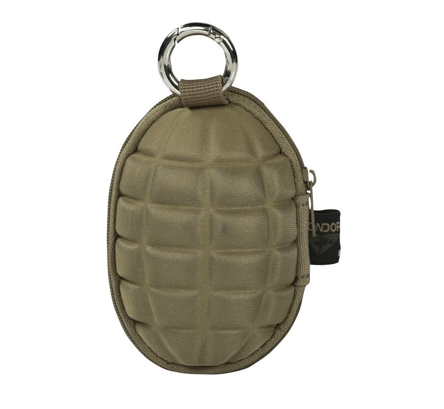Grenade Key Chain Pouch (Coyote)