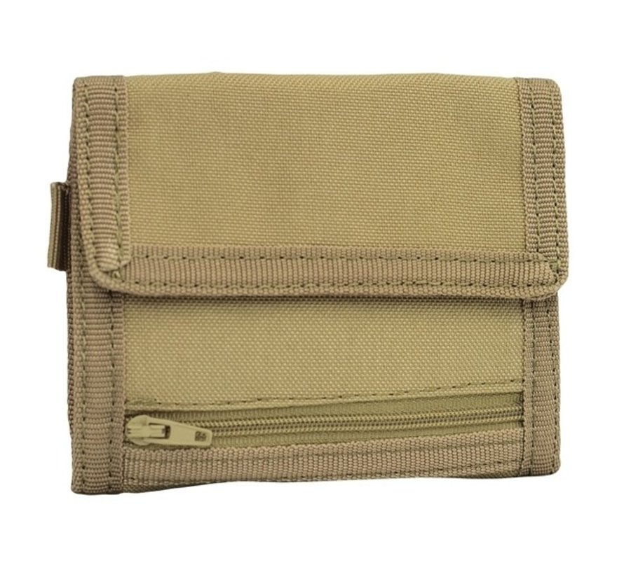 Tri-Fold Wallet (Coyote)